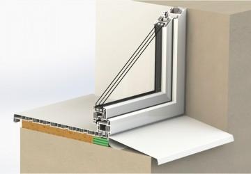 Откосы для пластиковых окон и дверей