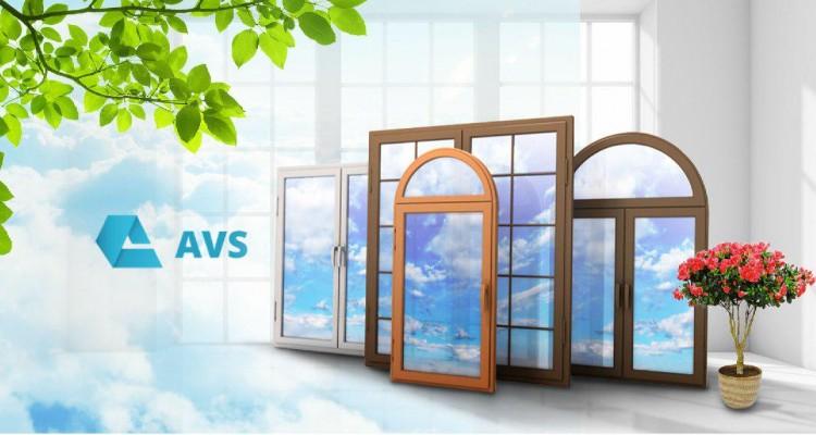 Пластиковые окна огромного вида от AVS