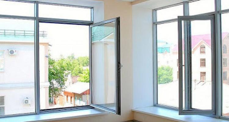 Окна из алюминиевого профиля, алюминиевые окна, алюминиевые окна в Нур-Султане